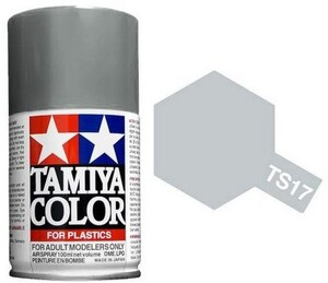 TAMIYA Spray TS-17 alu 1085017