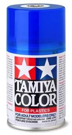 TAMIYA Spray TS-72 Clear Blue 1085072