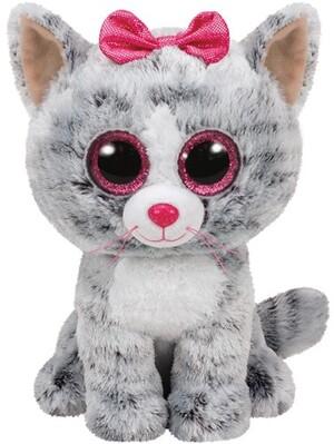 TY Kiki,Katze grau 24cm 37075