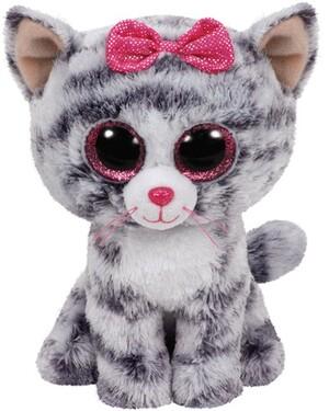 TY Kiki,Katze grau 15cm 37190