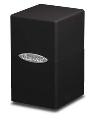 Ultra PRO Satin Tower Deck Box - Black 84173
