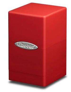 Ultra PRO Satin Tower Deck Box - Red 84174