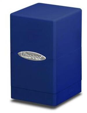 Ultra PRO Satin Tower Deck Box - Blue 84175