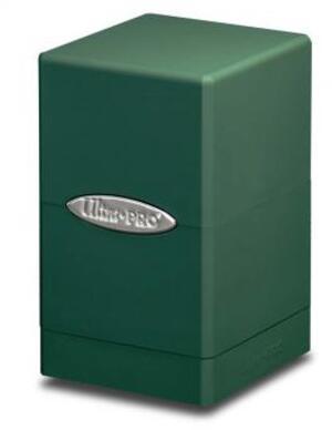 Ultra PRO Satin Tower Deck Box - Green 84176