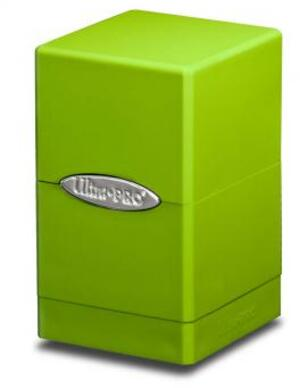 Ultra PRO Satin Tower Deck Box - Lime Green 84179