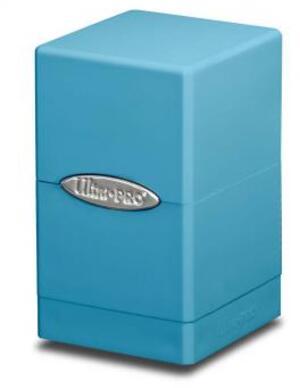 Ultra PRO Satin Tower Deck Box - Light Blue 84180