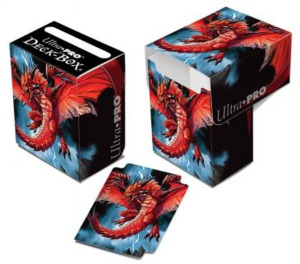 "Ultra PRO Artist Gallery - Mauricio Herrera - Full View Deck Box """"Demon Dragon"""" SV HN19di2184339"