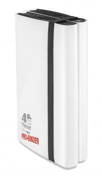 Ultra PRO 4-UP Playset Pro Binder white E-84604