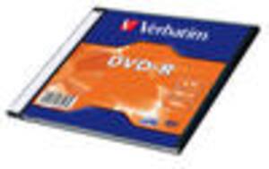 VERBATIM DVD-R Jewel 4.7GB 43124