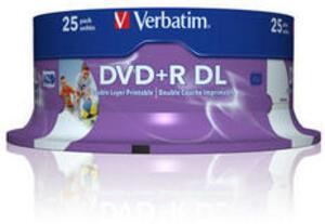 DVD+R/2.4xspd 4.7GB 25er Spindel 43216