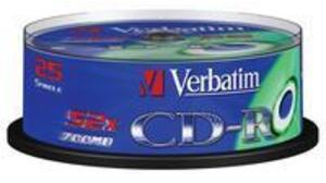 Verbatim CD-R Spindle 80MIN/700MB 43432