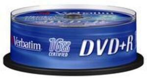 Verbatim DVD+R Spindle 4.7GB 43500