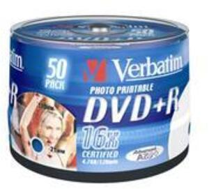 Verbatim DVD+R Spindle 4.7GB 43512