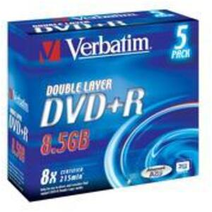 Verbatim DVD+R Jewel 8.5GB 43541