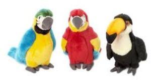 WWF Tropi. Vögel ass. 18cm (3) 15.170.011 6100780