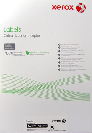 XEROX Xerox Label, A4 3R93874