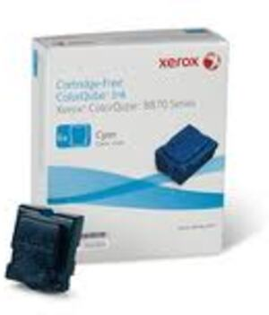 XEROX ColorQube 8870 ink Cyan 6 sticks 108R954