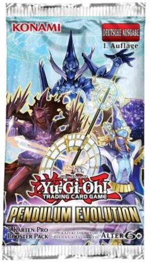 YU-GI-OH! Y-D Pendulum Evolution Booster 5K. HN00YU54496