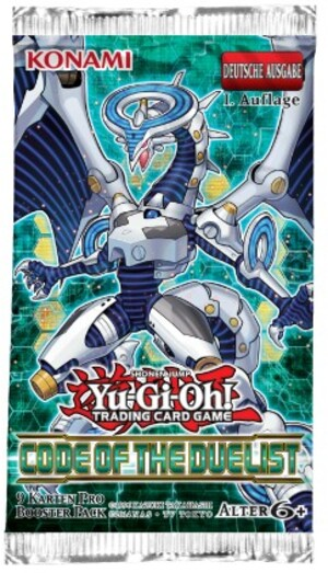 YU-GI-OH! Y-D Code of the Duelist Booster 9K. SV HN00YU54556