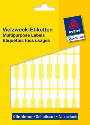 AVERY Zweckform 3335 Preis-Etiketten, 49 x 10 mm, 30 Bogen/924 Etiketten, weiss 3335