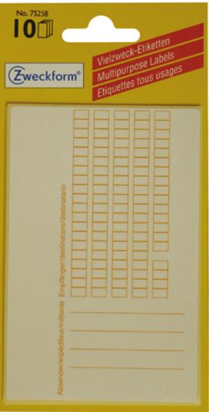 AVERY Zweckform AVERY ZW. Adress-Etiketten 112x73mm 75258