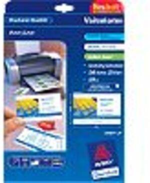 AVERY Zweckform C32016-25 Premium Visitenkarten, 85 x 54 mm, beidseitig beschichtet, 250 Karten / 25 Bogen C32016-25