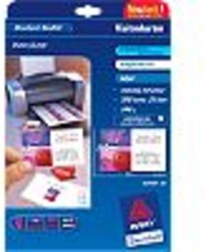 AVERY Zweckform C32028-25 Premium Visitenkarten, 85 x 54 mm, beidseitig beschichtet, 200 Karten / 2 C32028-25
