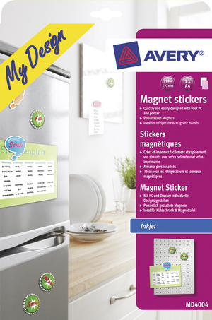 AVERY Zweckform Magnetstickers MD4004