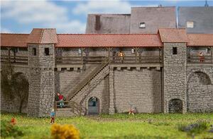 FALLER Altstadtmauer mit Treppe 1232353