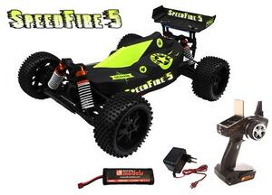 DF-Models SpeedFire 5 - RTR brushed Buggy 1:10XL 173019