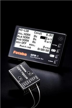 Futaba CGY760R & GPB-1 3-Axis Gyro/ Empf FBL 20GY760RB