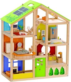Hape Vier-Jahreszeiten-Haus, möbliert 35tlg. 46E3401A