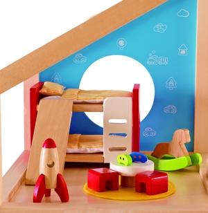 Hape Kinderzimmer 13tlg. 46E3456A