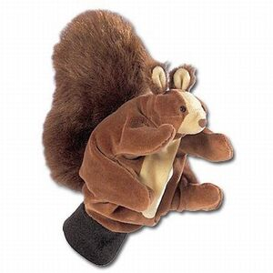 beleduc Handschuhpuppe Eichhörnchen 4840253