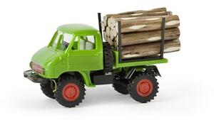 BREKINA Unimog 411 mit Holzladung 5239026