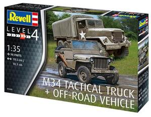 Revell M34 Tactical Truck & Offroad Vehicle 9003260