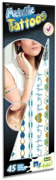 Revell Metallic Tattoo L (blau) 9030523