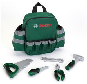 klein Werkzeug Rucksack Bosch 28x25x8.5 cm, bestückt mit 5 Werkzeugen, ab 3+ 29250326
