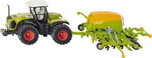 Siku Traktor Claas mit Sämaschine 1:50, Metall, Kunststoff, Siku Farmer 1826