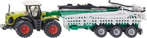 Siku Claas Xerion mit Fasswagen 1:87, Metall, Kunststoff, Siku Farmer 1827A1