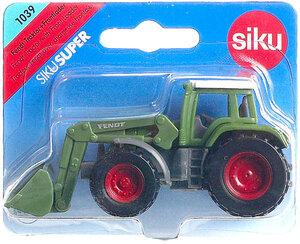 Siku Fendt Traktor mit Frontlader 1:64, Metall, Plastik Siku Siku;1039