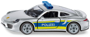 Siku Porsche 911 Autobahn-Polizei Siku Super Serie, Metall/Kunststoff 30091528