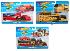 Mattel Super Truck, assortiert Truck mit Sportwagen, ab 3 Jahren 30300951