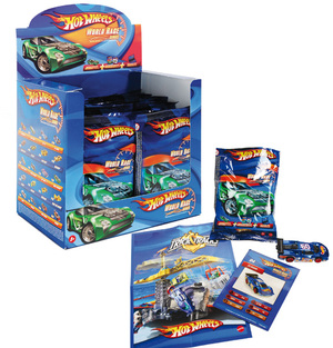 Hot Wheels 1er Blindpack Sortiment im Thekendisplay R9105