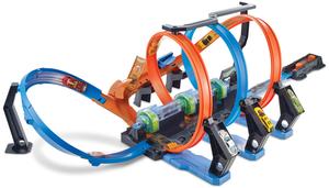 Hot Wheels Korkenzieher- Crash-Trackset, Batterien 4xD exkl. ab 5+ 30318065