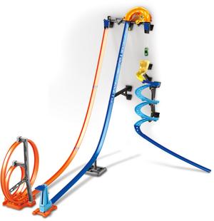 Hot Wheels Track Builder Senkrecht- starter Stunt-Set, 80x120x150 cm, ab 6+ 30318970