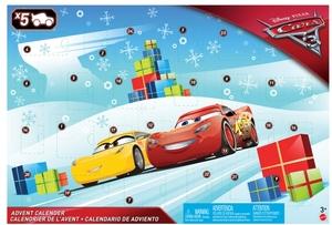Diverse Adventskalender Cars 3 mit 5 Micro-Autos und vielem mehr, ab 3 Jahren 30319014