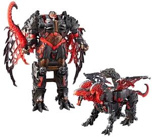 TRANSFORMERS Transformers Dragonstorm Mega Turbo Changer, Movie 5, 35-40 cm, Batterien inkl. 5+ 31000893