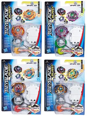 Hasbro Beyblade Burst Switch Strike Starter Pack, assortiert, Kreisel mit Starter, ab 8+ 31009723