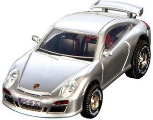 Darda Motor Darda Sportwagen Porsche ca. 8 cm, mit Rückzugmotor, passend zu allen Dardabahnen 31950340